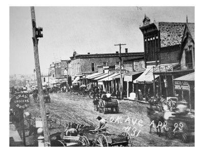 Oklahoma In 1898 Indian Territory Oklahoma Land Rush Oklahoma History Oklahoma