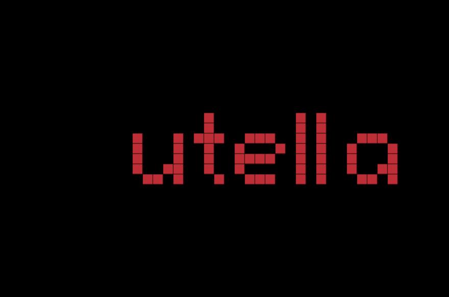 Nutella Pixel Art