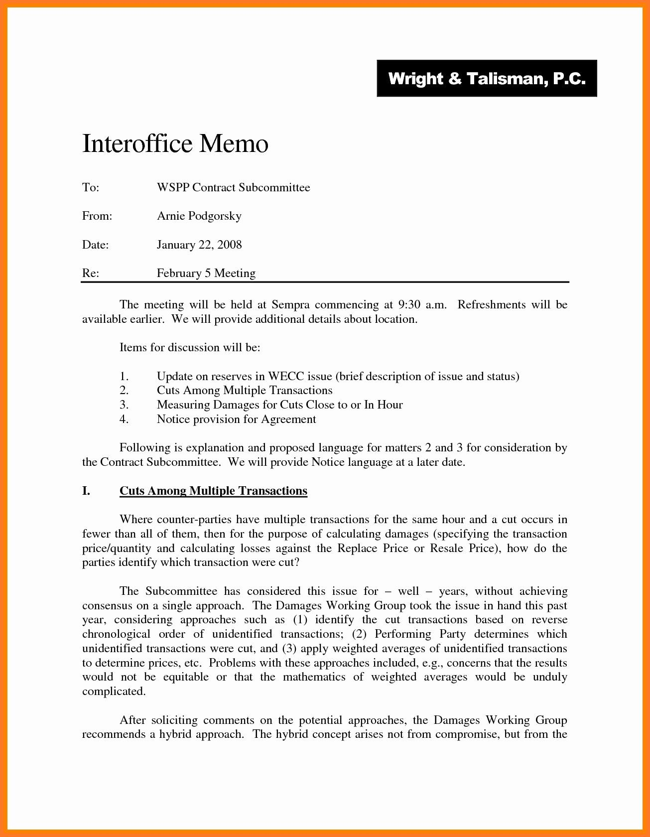 Legal Memo Writing Help: Office Memo Format and Explanation