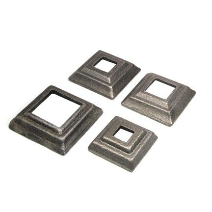 Wrought Iron Base Plates For Square Bar Wrought Wrought Iron Iron