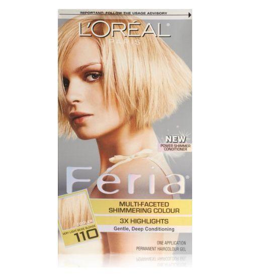 Feria Hair Color Blonde