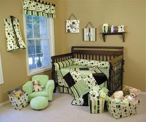 Trend Lab Giggles 4 Piece Crib Set Crib Bedding Boy