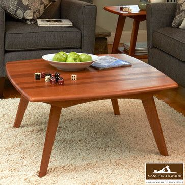 Retro Square Coffee Table By Manchester Wood Manchester Wood