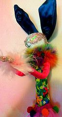Rainbow Couture Bunny