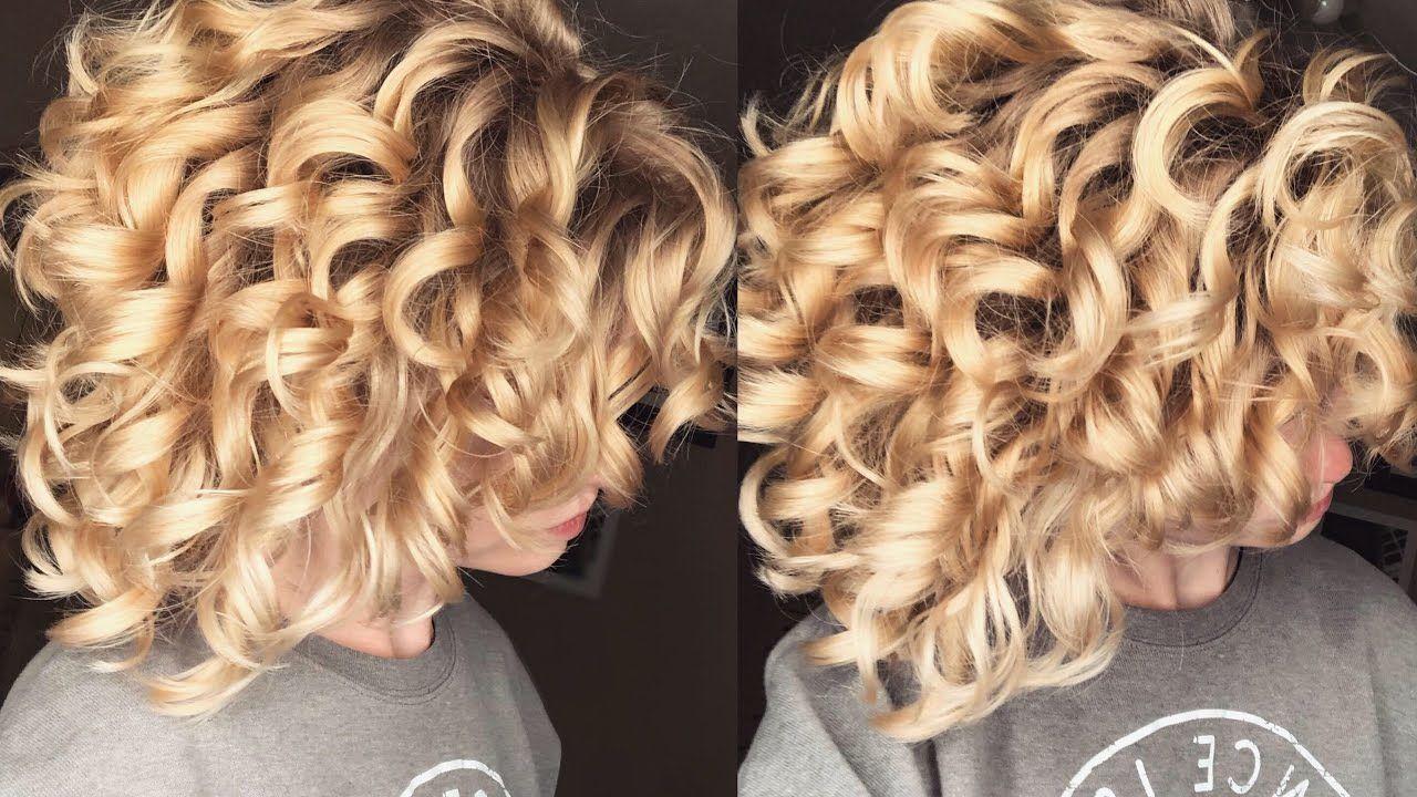 Denman Brush Coils Loose Curls TréLuxe Curly hair