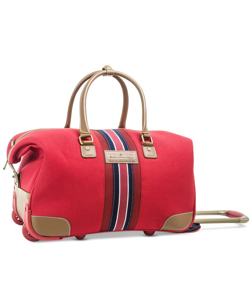 Tommy Hilfiger Freeport Rolling City Bag Only At Macy S