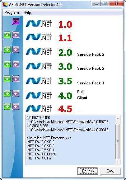net framework v2.50727