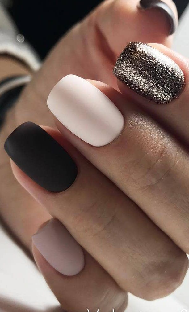 nails – 40+ Cute and Beautiful Glitter Nail Designs Ideas For Summer Page 22 of 40