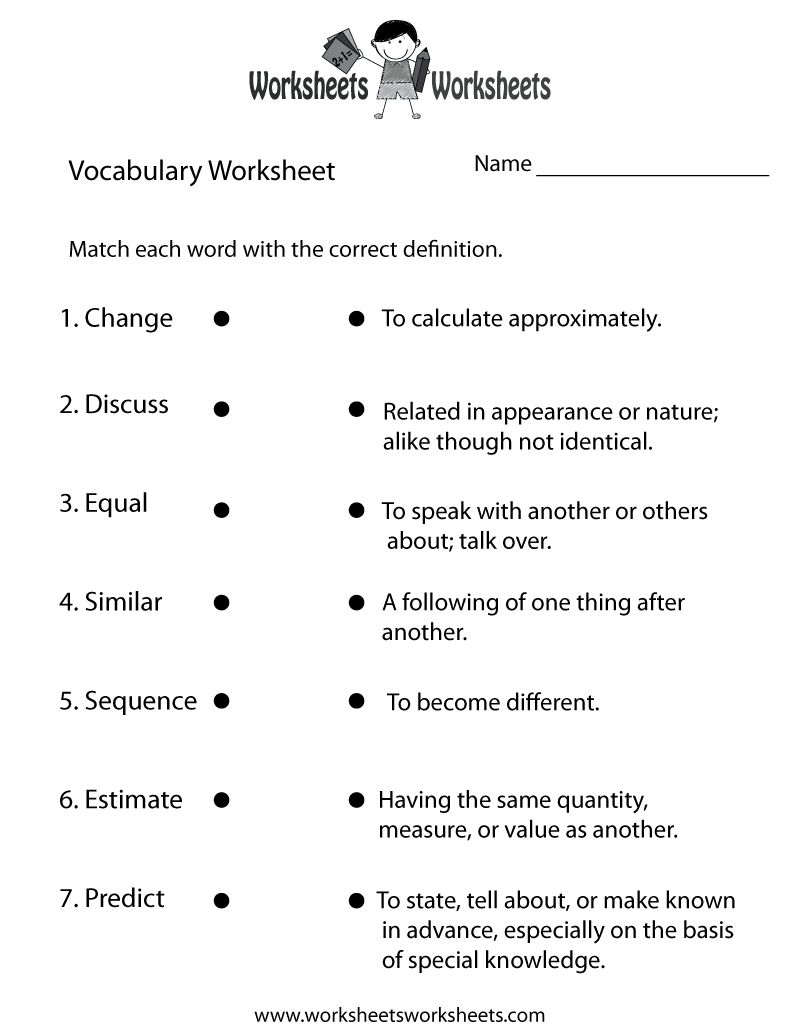 4th Grade English Worksheets Pdf : Th grade english worksheets two ways to print this free