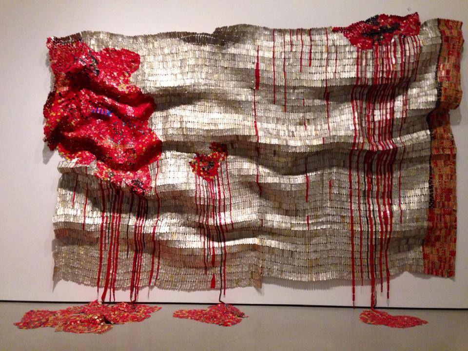 En Museo de Arte Moderno (MOMA). El Anatsui Bleeding Takari II La ...