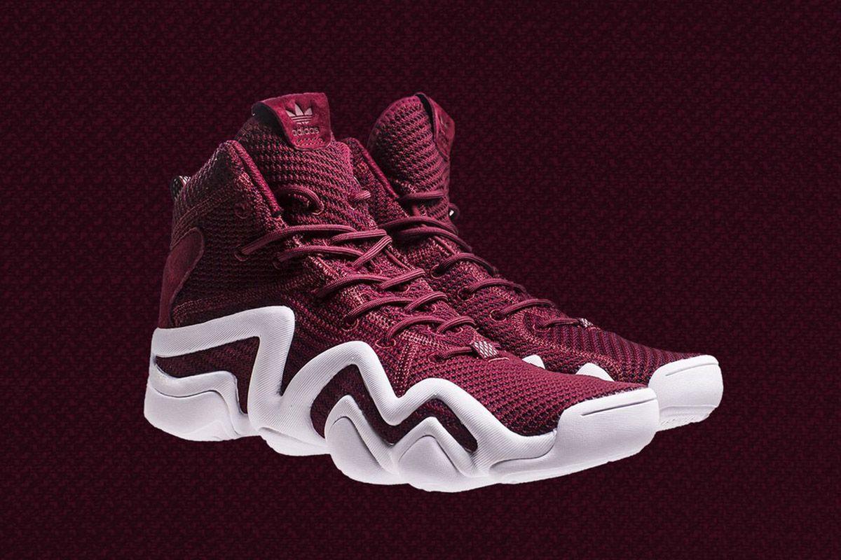 pretty nice 3a2ef 90ca0 adidas Crazy 8 ADV Primeknit Burgundy - EU Kicks Sneaker Magazine