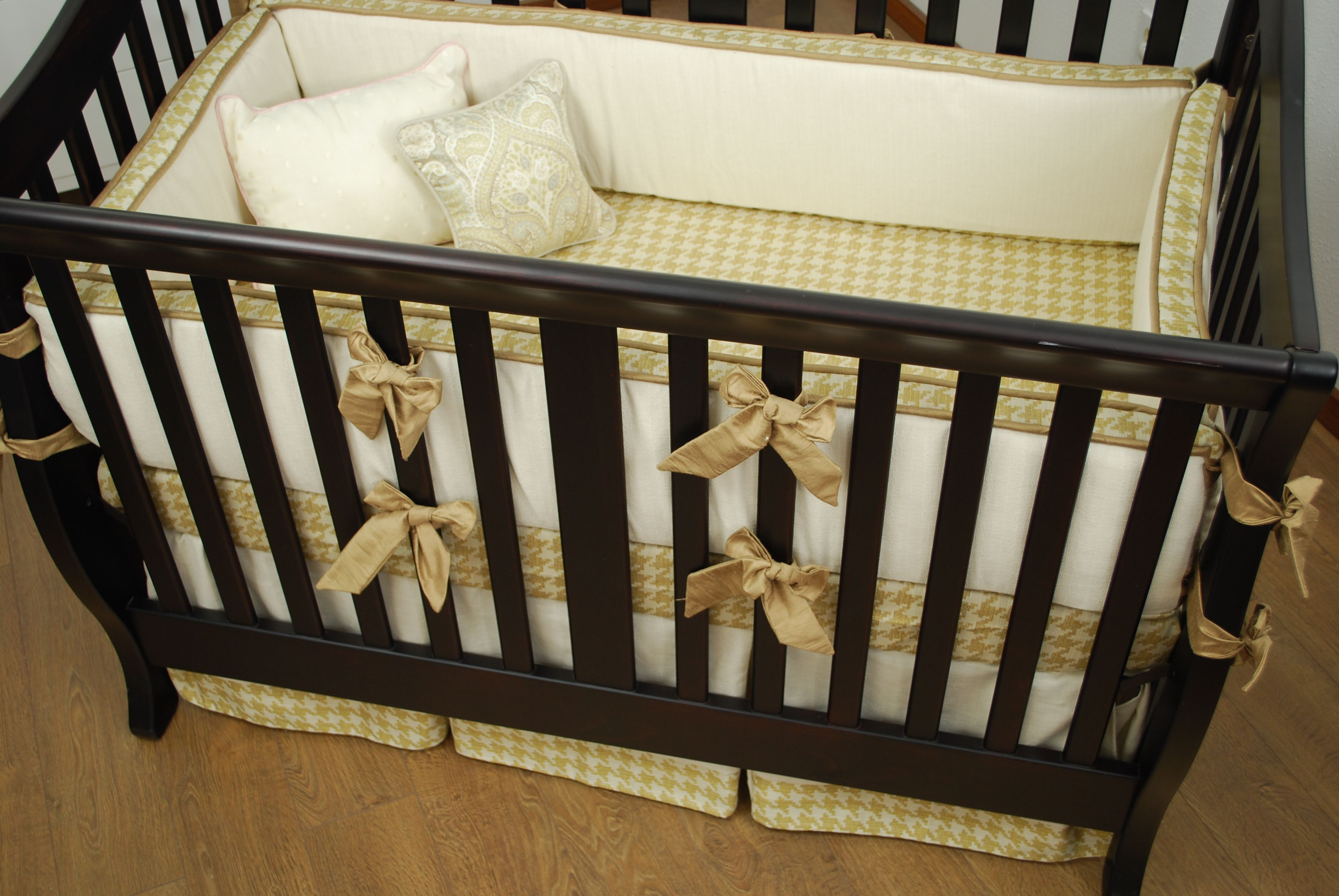 crib skirt ivy collections piece lambs gold bedding room set dawn