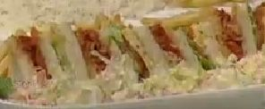 How To Make Tandoori Club Sandwich English Urdu Recipe Food