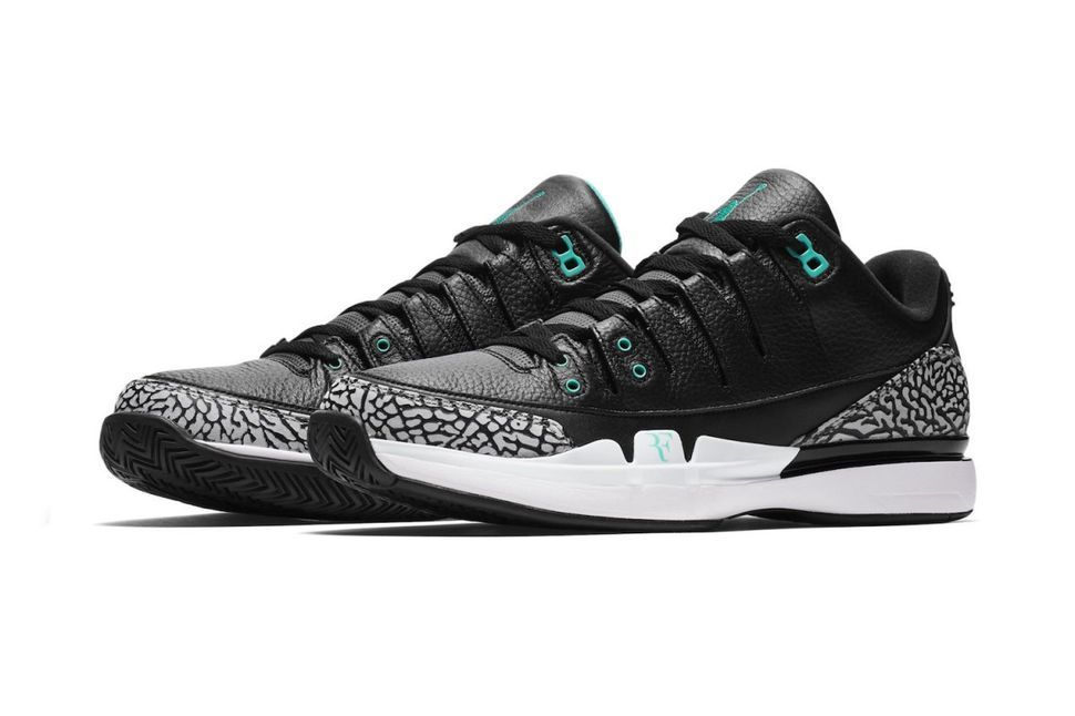 c6a9ae7f4964 Nike Court Zoom Vapor AJ3  Clear Jade  - EU Kicks  Sneaker Magazine