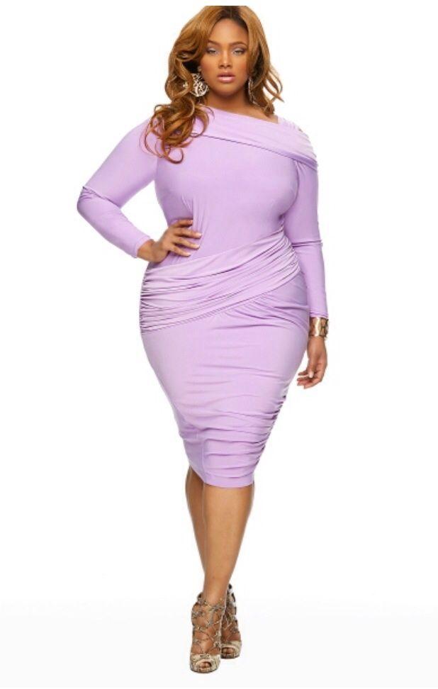 Cutethickgirls Lavender Plus Size Dresses 02 Cuteplus
