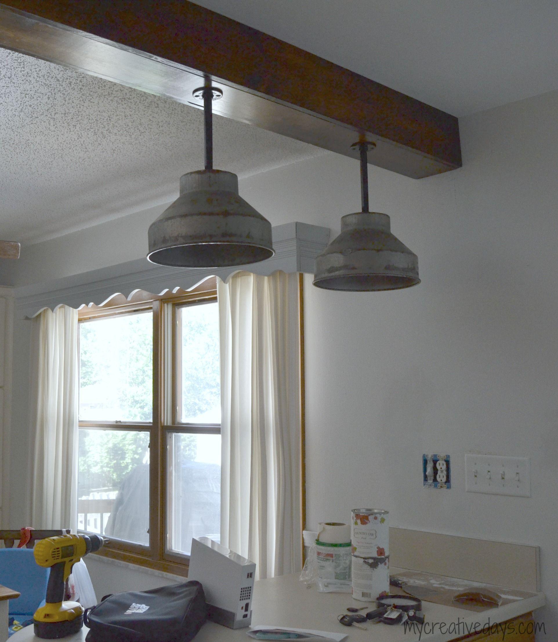 Kitchen Table Light Fixture Ideas: DIY Light Fixtures For The Kitchen