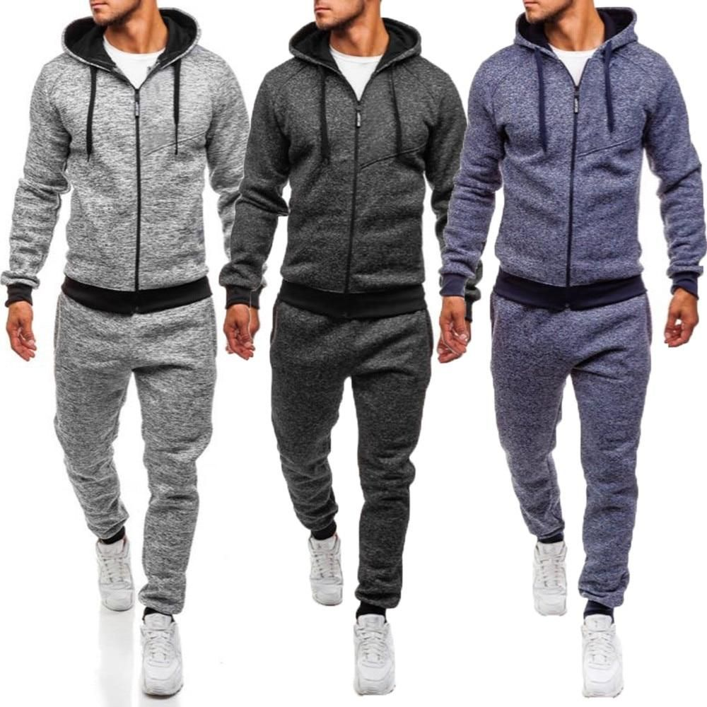 Men/'s /'New York/' Zip Up Hooded Tracksuit Gym//Jog//Sport//Fitness S M L XL XXL