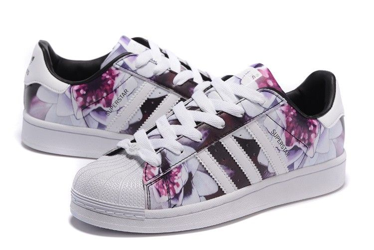 2016 Femme Print Chaussures Originals Superstar Adidas Casual Lotus qAwrqCRf