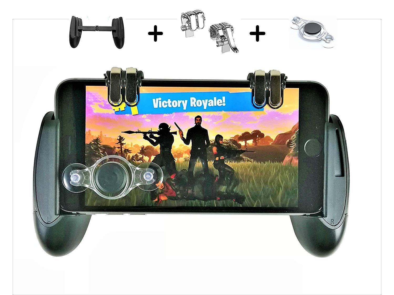 Mobile Gaming Controller Cell Phone Gamepad Grip with