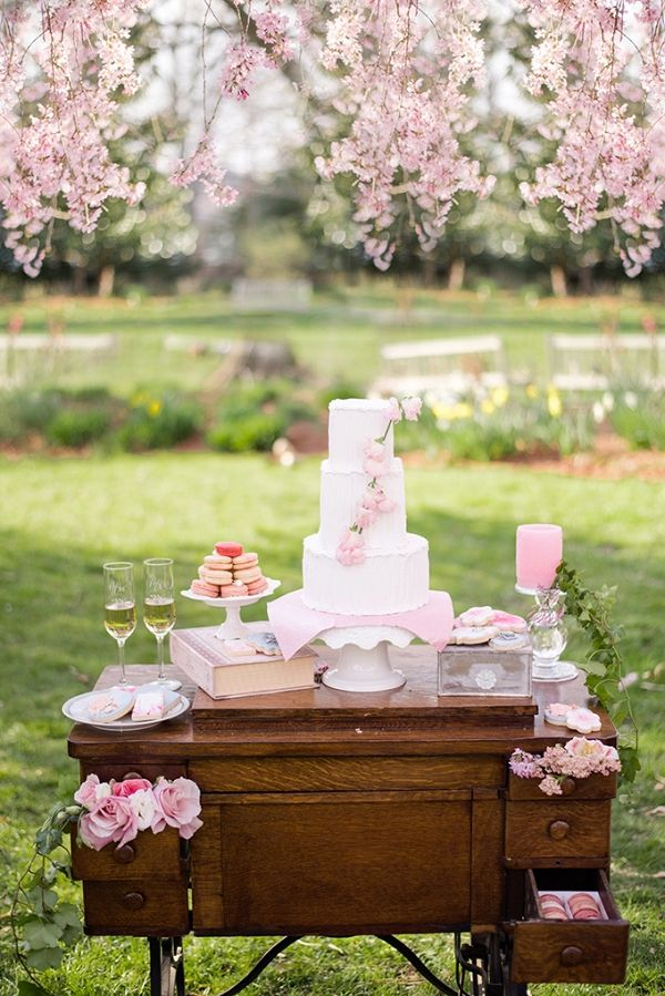 Cherry Blossom Wedding Inspiration By Meghan Rose Photography On Glamour Grace Planning Ideas