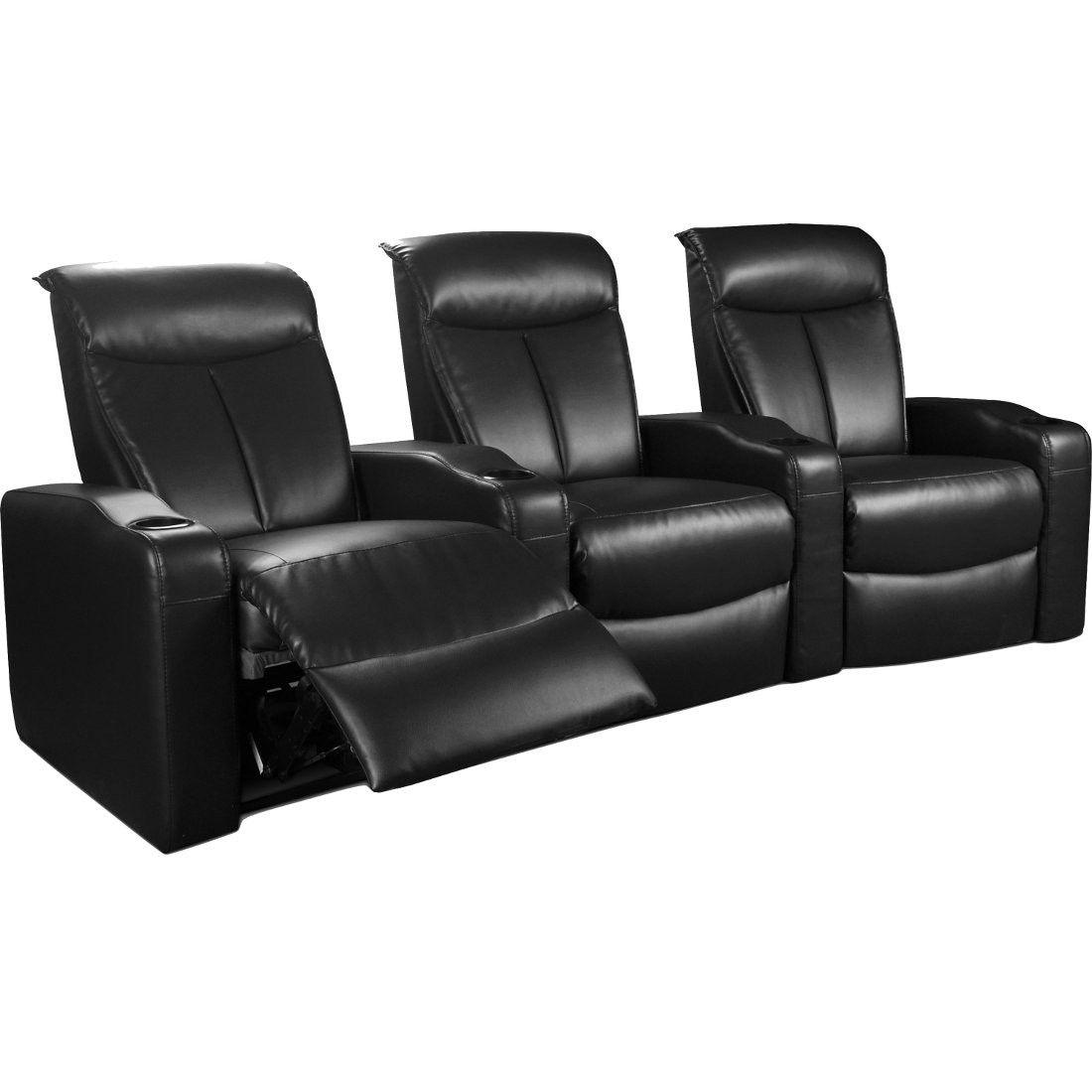 Coaster Estella Power Motion Theater Seats In Black $1,989