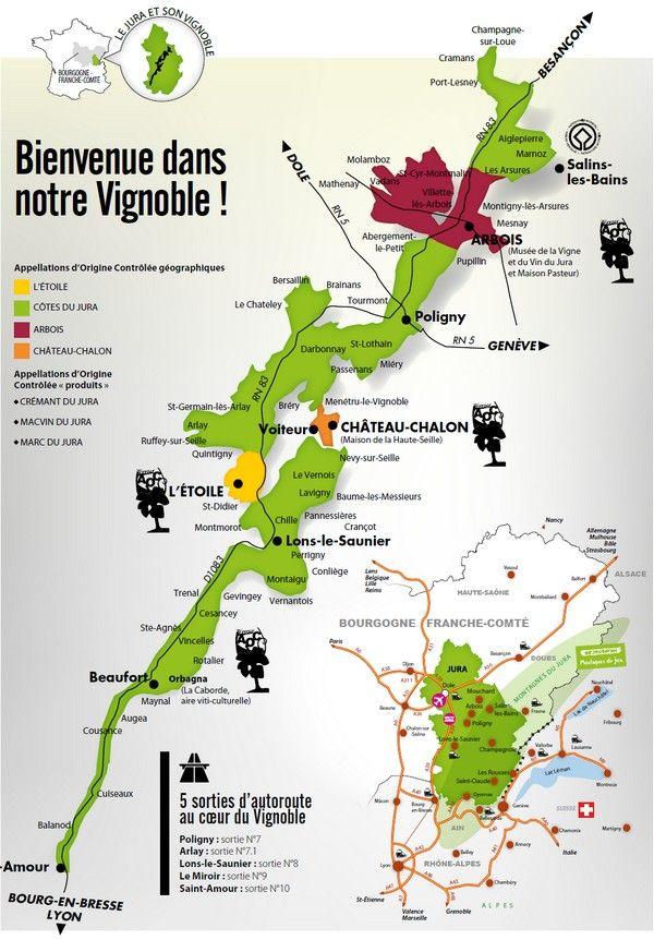 Vignoble Jura Arbois Poligny L Etoile Coteaux Ledoniens Haute Seille Sud Revermont Jura Tourisme Jura Tourisme Jura Vignoble