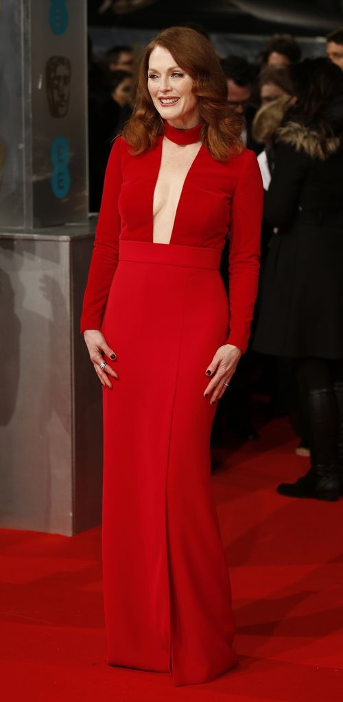 Julianne Moore en los Premios BAFTA 2015