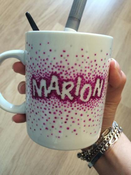 Préférence Création mug personnalisé avec prénom - Création Peinture sur  CQ12