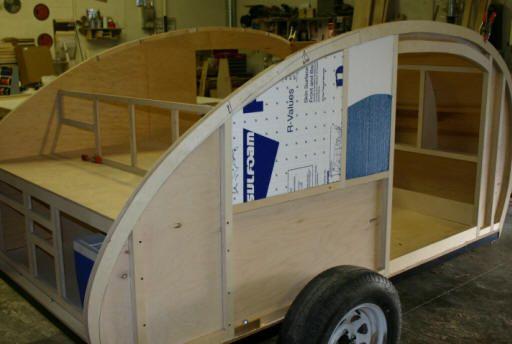 Truck Camper Plans Build Yourself: Image Detail For -Teardrop Trailer Construction