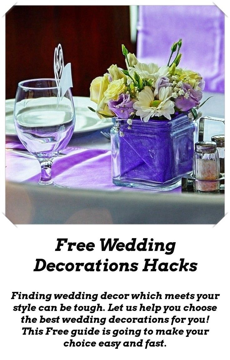 Elegant wedding decoration ideas  Wedding Decoration Ideas  Reception and Weddings