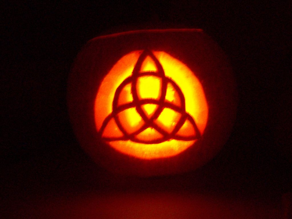 Triquatra Pumpkin Carving Charmed