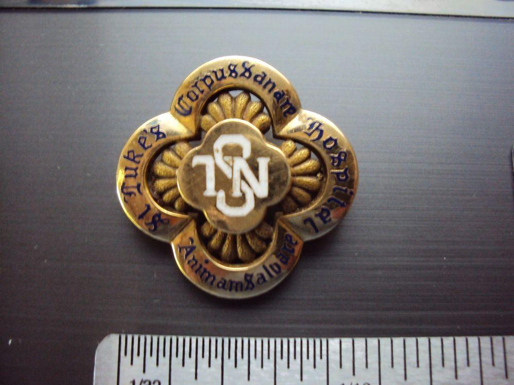 14K Gold St Lukes Hospital of New York City School of