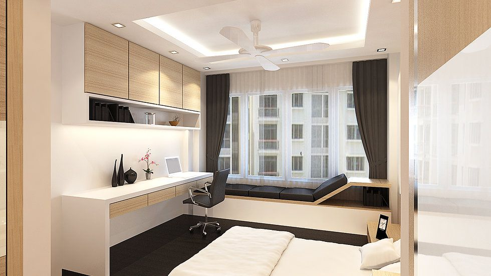 Charmant Measure Curtains For HDB   Minimal Interior Design