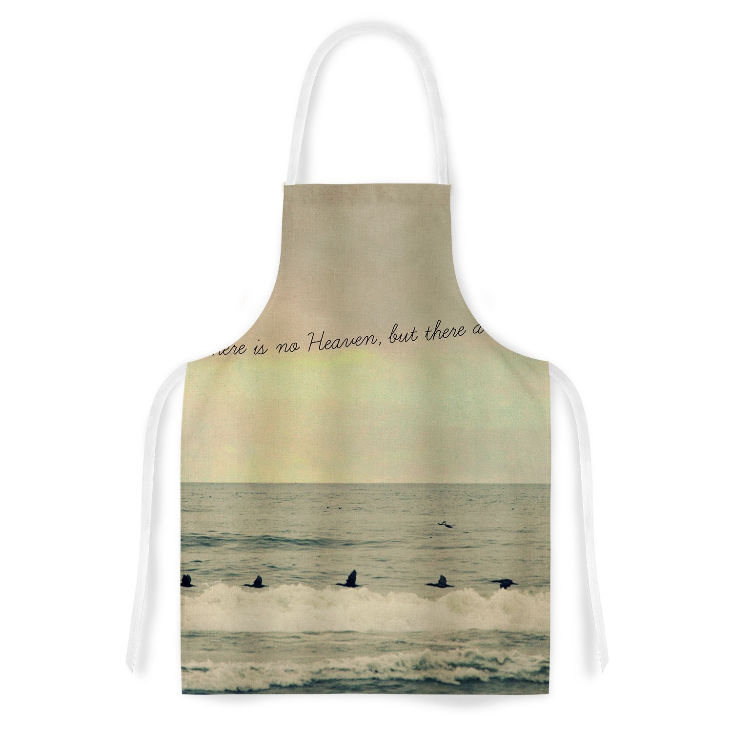 Pieces Of Heaven Fabric Artistic Apron