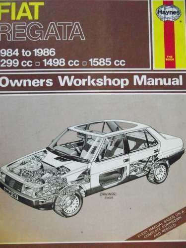 fiat regata haynes workshop manual 1984 1986 850101671 listing in rh pinterest com Basic Tractor Wiring Diagram 2012 Fiat 500 Wiring Diagram