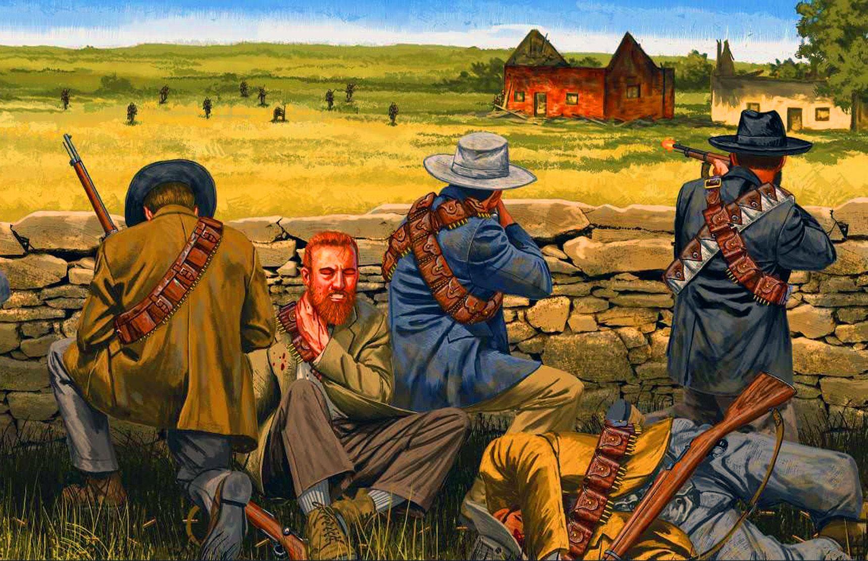 File:A boer war reenactor, MC Heunis preparing his