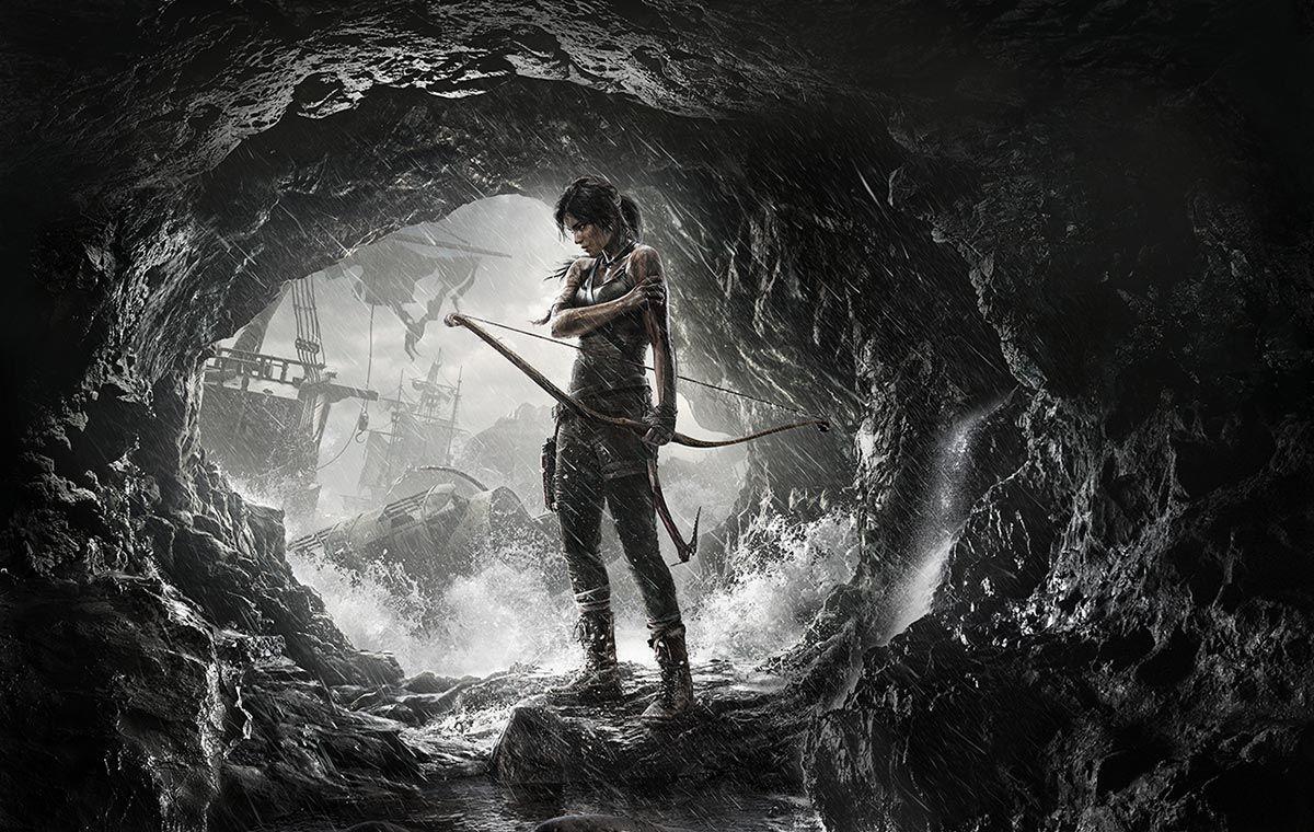 Video Game Art Tomb Raider Survival Cover Artwork Tomb