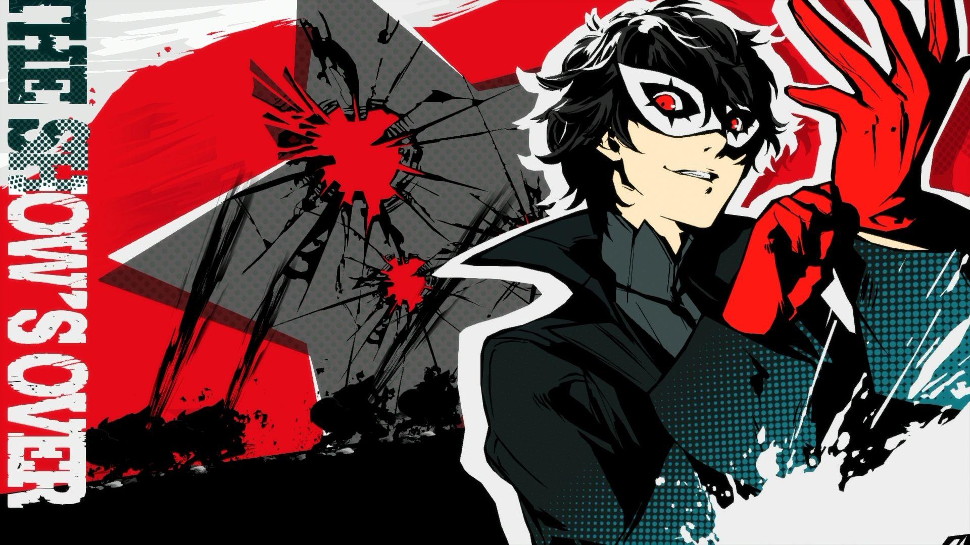 Shin Megami Tensei Persona 5 Joker Kurusu Akira Persona 5 Persona 5 Joker Persona
