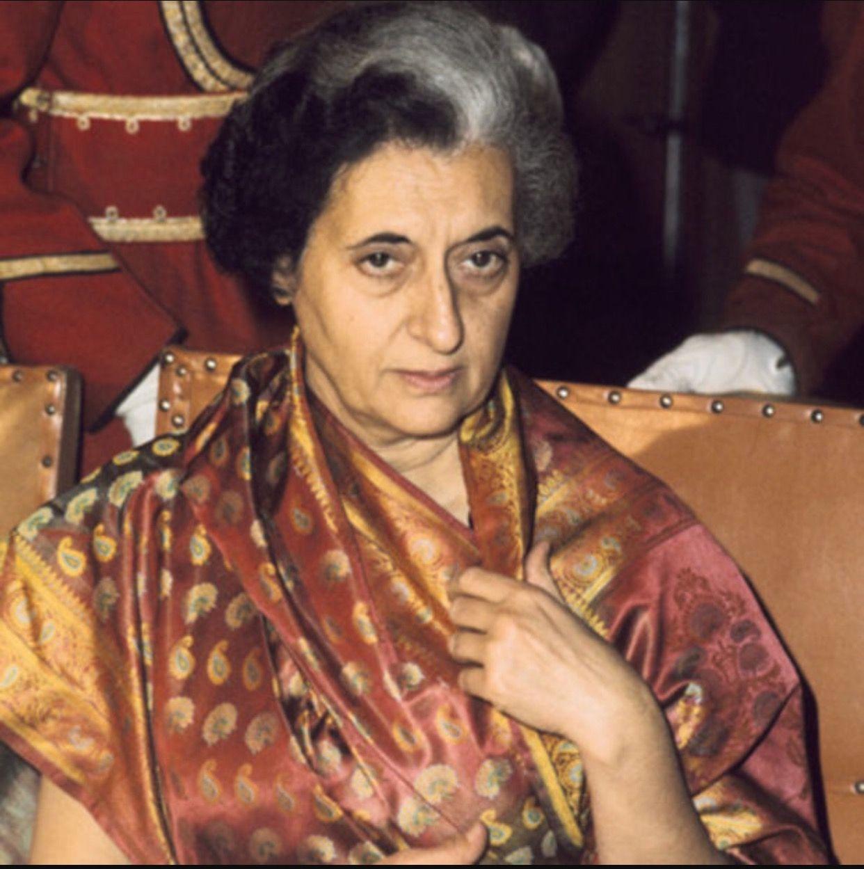 Indra Gandhi (B. 1917) Indira Priyadarshini Gandhi was an