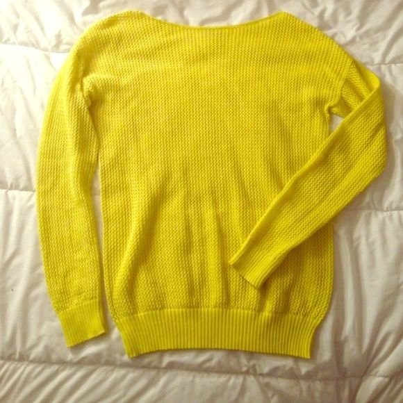 1 hr sale Madewell yellow sweater | Yellow sweater and Madewell