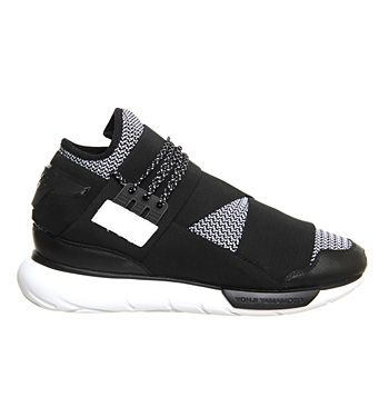 Adidas Y3 Qasa Hi Black White Knit