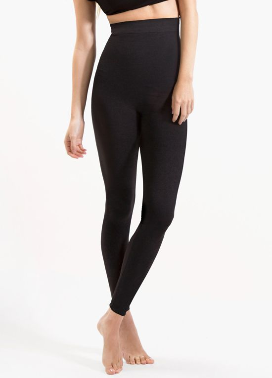 fb1d62dcf7dbd Blanqi - High Waist Postpartum Leggings in Black | maternity style ...
