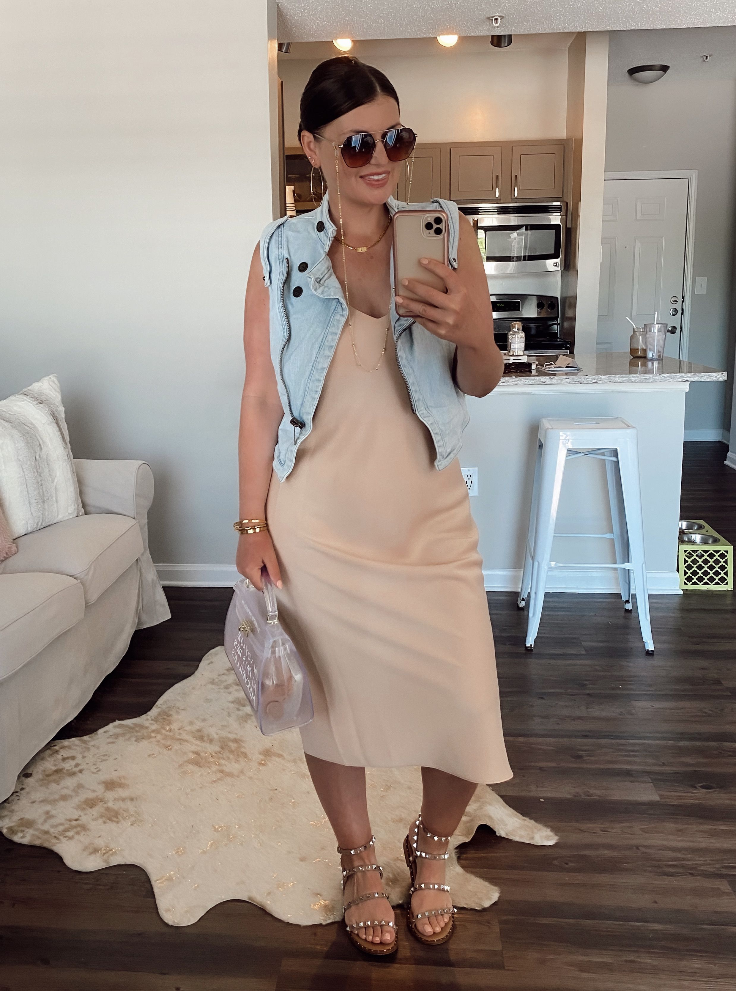 5 Ways To Wear A Slip Dress For Summer The Rule Of 5 Summer Slip Dress Casual Chic Outfit Plus Size Summer Outfit [ 3334 x 2477 Pixel ]