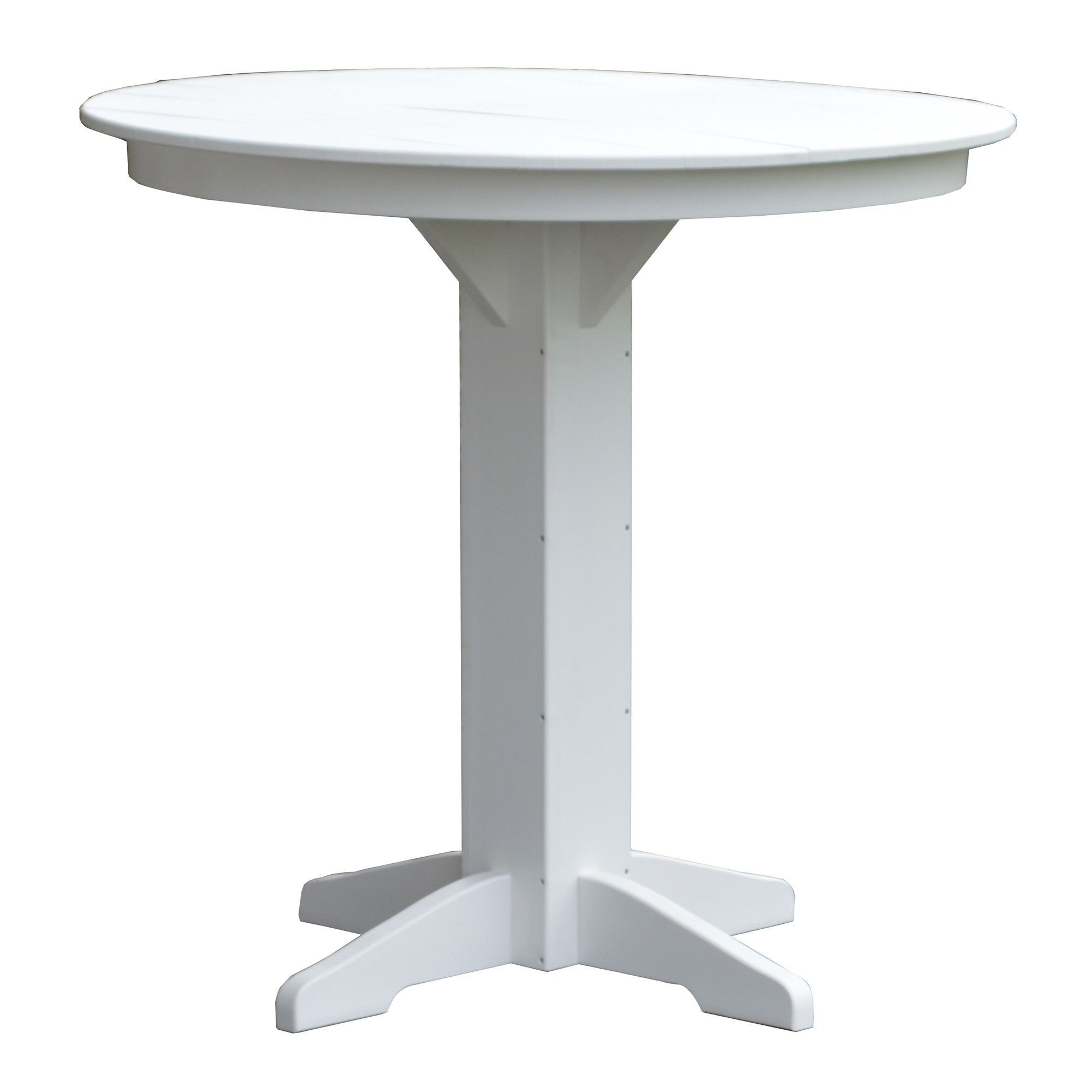 Rochester Plastic Resin Bar Table Patio Table Resin Table Top