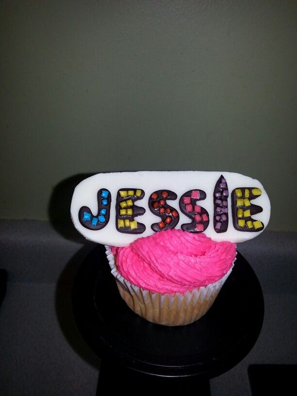 Disney Channels Jessie Cupcakes Cakes I Made Pinterest Disney