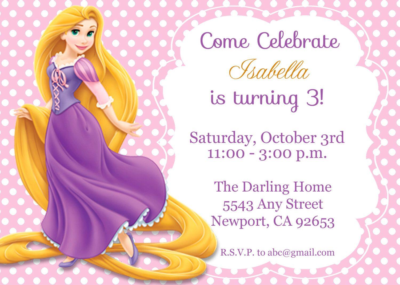 The 25+ best Rapunzel invitations ideas on Pinterest | Repunzel ...