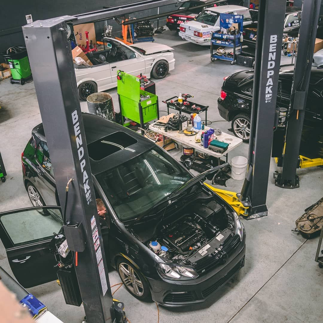 Love This Shot Of Another Golfr In The Shop We Guided This Customer Throughout His Car Modification Path Apr Tune Turboback Diesel Timing Belt Bmw Turbo