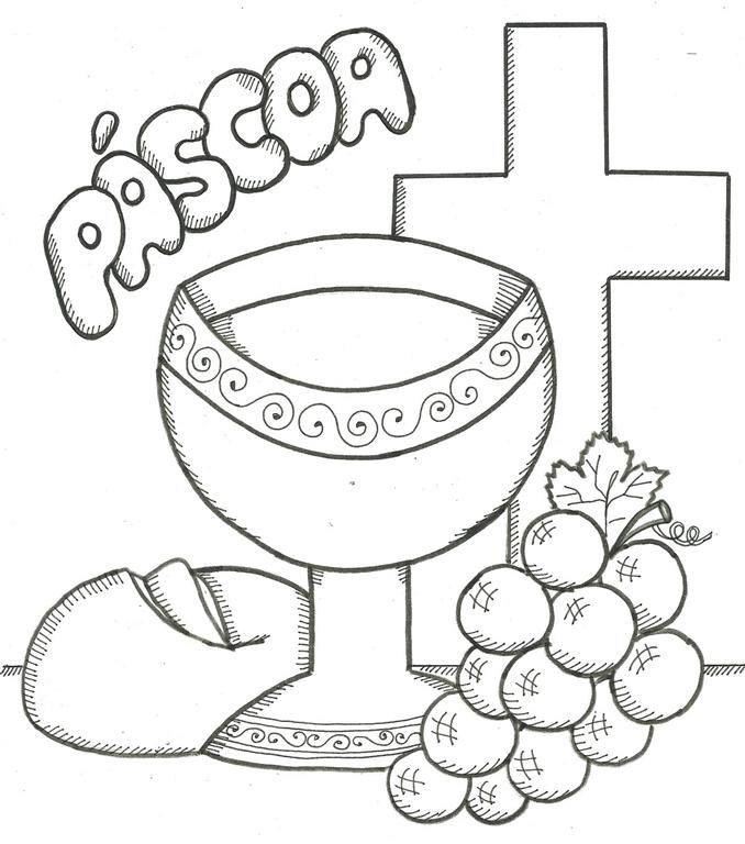 Simbolos Da Pascoa E Seus Significados Para Colorir Com Imagens