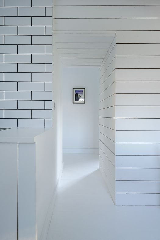 Brown + Brown Architects - Contemporary refurbishment - #White #timber #tile - http://brownandbrownarchitects.com/heath-cottage-refurbishment-aberdeen-architects/
