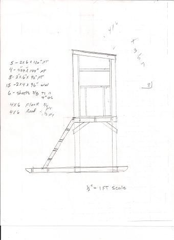 Free Deer Hunting Stand Plans Hunting Tips Shooting